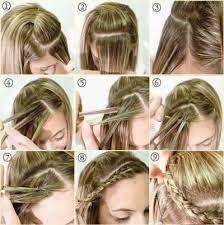 Aquí les dejo un peinado super facil de hacer.  Here is a super easy hairstyle to do.