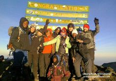 PE512 The Sole Mates, Mt Kilimanjaro, 25 Jan 14 with www.privateexpeditions.com