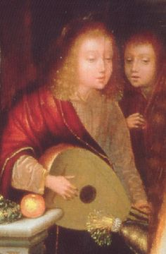 Quentin Metsis, 1540 (détail).  Musée des Beaux-Arts de Lyon, France.