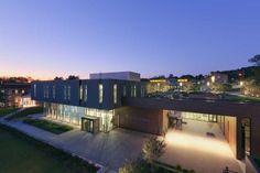 Вукович-центр Колледжа Аллегейни. Фото (с) Jeff Goldberg/ESTO