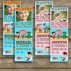Disney Sheriff Callie's Wild West   Birthday by PrettyGraphics, $6.00