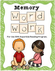 """This product was created to correlate with """"Meet the Superkids"""" and """"Superkids Club"""" reading program. This set of Memory Word Work has over 140 pages of activities that you can use to teach your students the memory words introduced in Kindergarten. It is perfect for centers, homework, small groups, and more. Pick and choose which activities best fit your students."""