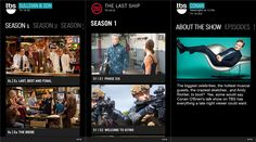 TNT and TBS TV applications for Windows Phone 8 devices   Now you can watch your favorite movies on your TNT on your Windows Phone device. This new application provides full access to the biggest television dramatically the next episode guides, behind the scenes videos, schedule reminders setting .... and more. You can watch episodes on demand The Last Ship, Major Crimes, Falling Skies, Rizzoli & Isles and more.