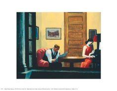 Room in New York Edward Hopper Fine Art Print Poster