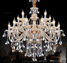 Led Chandelier Lighting Modern Luxury K9 Crystal Chandelier Light Lustres De Cristal Upscale Lustre Chandeliers Living Room Bedroom Hot Designer Chandeliers Chandeliers Online From Longlight, $250.86| Dhgate.Com