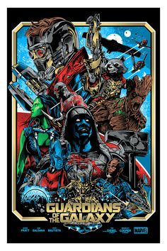"""""""Guardians of the Galaxy"""" by Alexander Iaccarino"""