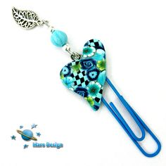 Blue heart bookmark   Flickr - Photo Sharing!