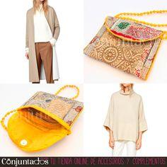 Este ideal bolso está hecho de tejidos hindúes con hilos bordados, principalmente de tonos dorados, lo que hace que conjunte perfectamente con cualquier prenda que te pongas. ★ Precio: 13,95 € ★ en http://www.conjuntados.com/es/bolsos/bolsos-bandolera/bolso-bandolera-peque-o-tipo-hindu-amarillo.html #novedades #bolso #bag #handbag #purse #crossbodybag #bandolera #casuallook #accesorios #complementos #shopping #trendy #tendencias #tendances #moda #mode #estilo #style #étnico #chic #loveit