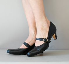 mary janes / 60s shoes / 1960s Mary Jane heels by DearGolden, $44.00