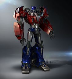 Optimus Prime - Transformers Prime Autobot designs by Augusto Barranco. Transformers Characters, Transformers Optimus Prime, Ironhide Transformers, Robot Concept Art, Marvel Wallpaper, Rare Pictures, Character Design References, Robots, Lotr