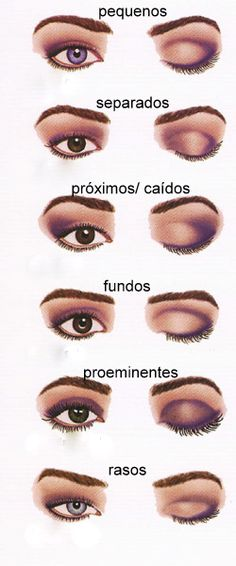 Makeup Tips That Nobody Told You About Make-up tips for the eyes. How to make up. Be Beauty.Make-up tips for the eyes. How to make up. Be Beauty. All Things Beauty, Beauty Make Up, Hair Beauty, Beauty Secrets, Beauty Hacks, Beauty Care, Different Types Of Eyes, Makeup Techniques, Eyeshadow Techniques