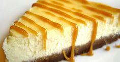 Recette de cheesecake : gâteau américain au fromage frais type philadelphia et biscuits spéculoos ! On peut le napper de caramel, chocolat, confiture de lait... au choix !