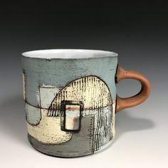 Slab Ceramics, Porcelain Ceramics, Ceramic Teapots, Ceramic Cups, Pottery Mugs, Ceramic Pottery, Vases, Japanese Tea Cups, Ceramic Texture