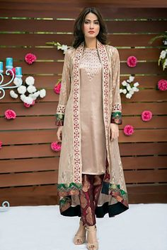 Latest Eid Formal Dresses By Zainab Hasan Collection 2015-2016 | GalStyles.com