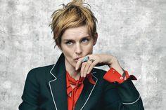Fresh from creating Stella Tennant's cool chop for July Vogue, Sam McKnight talks making short hair look good at any age