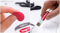 Sugru Self-Setting Rubber #gadgets #useful #inventions #coolsutff #coolthings