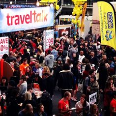 TNT Travel Show, London 2014
