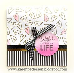 Embellish Your Life Card and Planner Details and Accessories