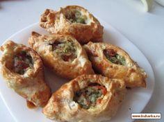Рецепт: Пирожки с соленой рыбой