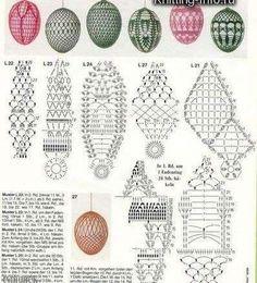Relasé: Uova di Pasqua all'uncinetto - schema