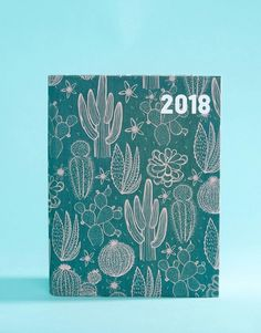 Buy Paperchase Cactus Garden Jan-Dec 2018 Diary at ASOS. With free delivery and return options (Ts&Cs apply), online shopping has never been so easy. Get the latest trends with ASOS now. Cactus Gifts, Asos, Paperchase, Saved Items, Stationery, Notebooks, Journals, Fashion Online, Gardens