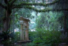 Bonaventure Cemetery, Hiking Trails, Savannah Chat, Painting, Painting Art, Paintings, Painted Canvas, Drawings
