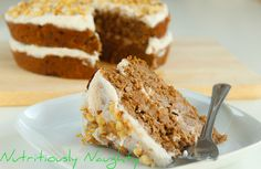 I created this gluten, refined sugar, dairy free & low FODMAP Carrot & Walnut Cake in collaboration with Indigo Herbs for World Digestive Health Day! Carrot And Walnut Cake, Sugar Free Baking, Baking Recipes, Baking Ideas, Sugar Cravings, Healthy Baking, Dairy Free, Gluten Free, Delicious Desserts