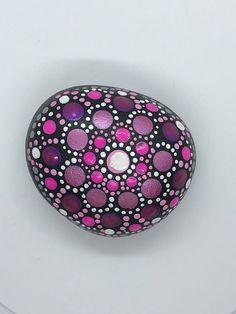 Hand Painted Rock, Stone Art, Rock Art, Mandala Design. Perfect al occasion gift #RockArt