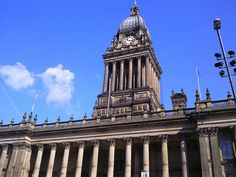 Leeds Town Hall. Tips for things to do in Leeds: http://www.europealacarte.co.uk/blog/2011/10/30/what-to-do-leeds/