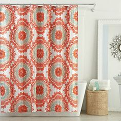 Anthology Bungalow 72-Inch x 72-Inch Shower Curtain - BedBathandBeyond.com