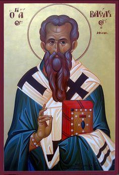 Άγιος Βασίλειος ο Μέγας Byzantine Icons, Orthodox Icons, Christianity, Disney Characters, Fictional Characters, Saints, Blog, Movie Posters, Angels