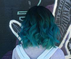 Turquoise hair