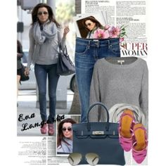 840. Celebrity Style: Eva Longoria, created by nastyaafanasova on Polyvore by jeanette
