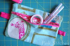Pink Stitches: Smash Book Fanny Pack