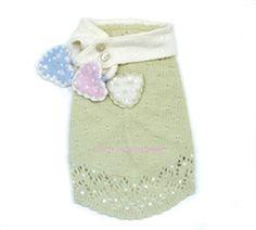Little Sweet Hearts Sweater & Scarf Set