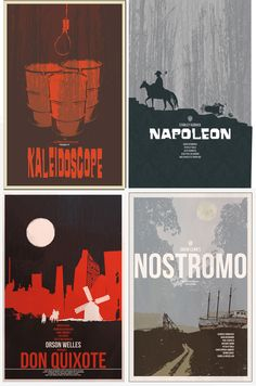 A tribute to the unfinished dream projects of legendary directors:  Alfred Hitchcock's Kaleidoscope  Stanley Kubrick's Napoleon  David Lean's Nostromo  Orson Welles' Don Quixote