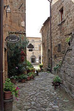 Civita di Bagnoregio, Lazio, Italy