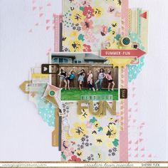 Product Spotlight *Crate Paper - Poolside* by Sherri Funk