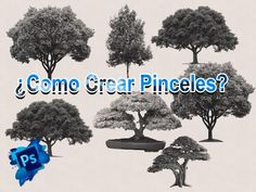 Como crear pinceles para Photoshop - Videotutorial Photoshop - YouTube