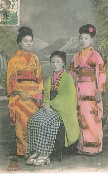 Karayuki-san - Japanese girls and women born into poverty in the century trafficked in places outside of japan. Usually to other Asian countries. Families were usually unaware the girls were to be raped. Surabaya, Travel Abroad, Japanese Girl, Southeast Asia, Painting, Saigon Vietnam, Google Search, Women, Countries