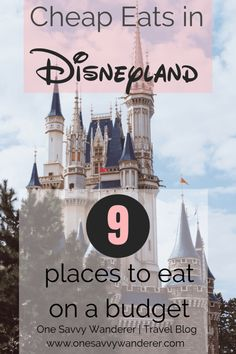 Save money on your trip by finding the best cheap eats in Disneyland. This guide highlights the best places to eat at Disneyland on a budget. Disneyland Paris, Disneyland Vacation Packages, Disneyland Dining, Disneyland Secrets, Disney Vacations, Disney Trips, Disney Cruise, Eat On A Budget, Best Budget