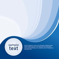 """""""Sample Blue Background"""", vector graphic by DryIcons.com - available with Free, Commercial and Extended License"""