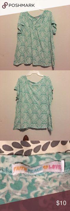 Light blue shirt Light blue shirt. Never worn before! Tops Tees - Short Sleeve