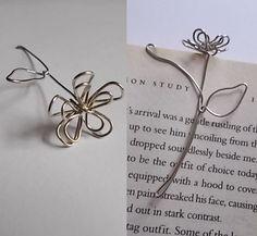 Wire Flowers #art #bookmark #daisy