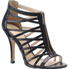 Isola Angelique - Anthracite Metallic Leather with FREE Shipping & Returns. This stunning, caged sandal with its strappy design is a head-turning