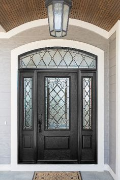 New Glass Front Door Ideas Entryway 58 Ideas Garage Door Design, Main Door Design, Front Door Design, Garage Doors, Best Front Doors, Black Front Doors, Exterior Front Doors, Front Entry, Door Entryway