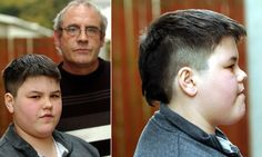 The teachers at English Martyrs School in Hartlepool, Cleveland,  even offered to pay for Robert Hudson, 12, to visit a barber but his guardians refused.