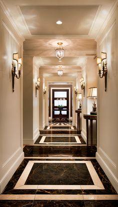 InterContinental Barclay New York - Stonehill Taylor Foyer Mirror, Luxury Decor, Wall Tile, Corridor, Oversized Mirror, Flooring, York, Living Room, Bedroom