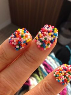 I highly recommend candy-coated nails for anyone who is a nail biter. It's delicious. oh my gosh haaaahahahha