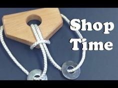 How To Make A Wooden Rope Puzzle - All
